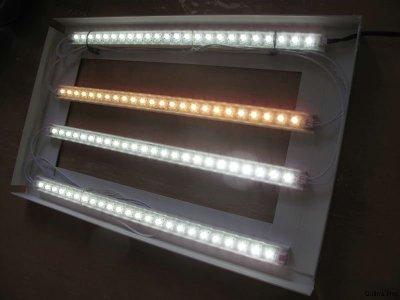 Comparatif éclairage Nano LED